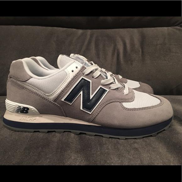 4af8aec986 New Balance Shoes   574 Core Plus Gray Gunmetal Navy 10   Poshmark